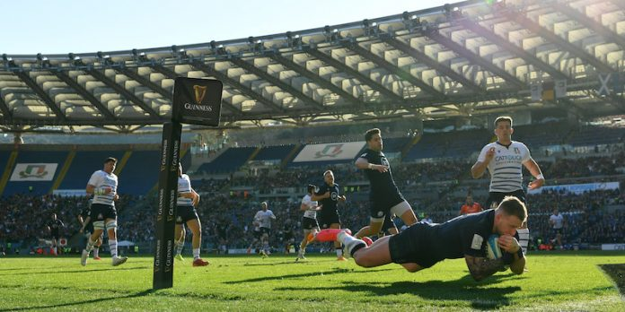 Italy also lost against Scotland in rugby