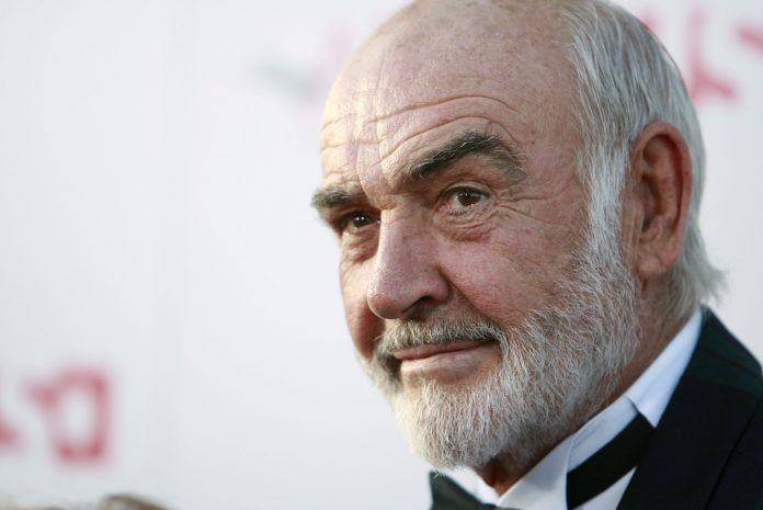 Sean Connery died from the legendary 007 farewell
