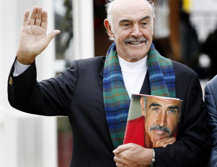 Sean Connery is 'Scotland Forever', a dream of freedom