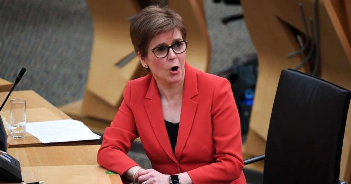 'The time has come for Scotland to become an independent European nation,' Sturgeon announced.