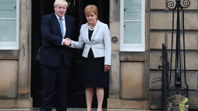Johnson reaffirms opposition to a new independence referendum in Scotland - EURACTIV.com