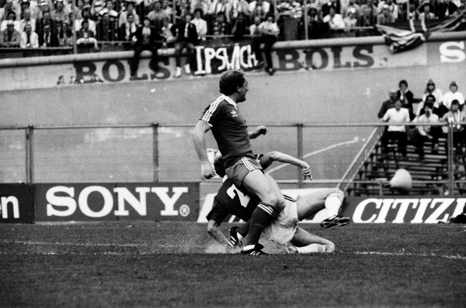 Brazil played for Ipswich as they conquered Europe