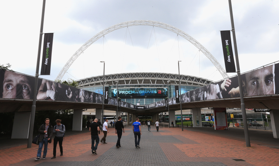 Wembley Stadium will host events such as the FA Cup Final - which can be used as a test event