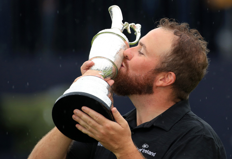 Shane Laurie sealed the biggest win of his career in 2019 Open Championship