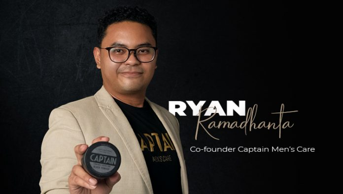 First in Indonesia, Captain Men's Care launched natural and safe pomade