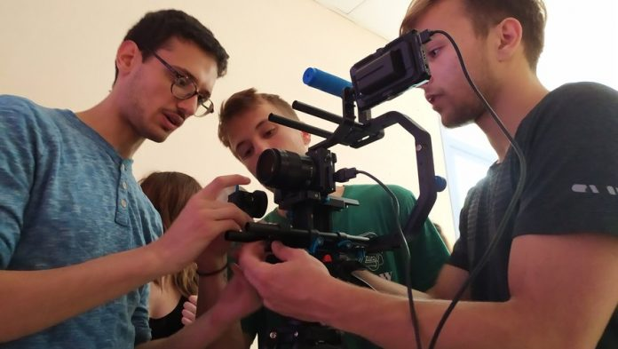 Castres: The Lambert brothers have finished shooting their first film