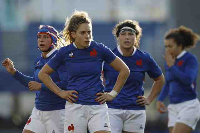 Les Bleues won a draw in Scotland in the tournament