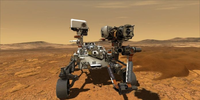 NASA released first video of gallantry rover landing on Mars (video)