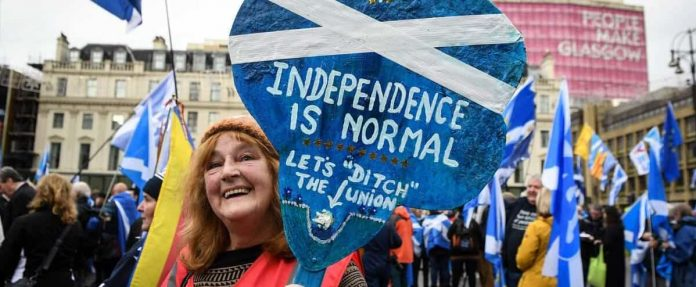 Scotland: Most voters want referendum on independence