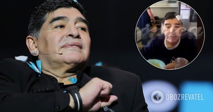 The last video with Maradona - the video was published in Argentina