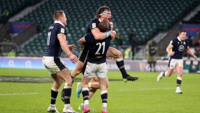 VI Nation Tournament - Scotland feat to win in England (11-6)