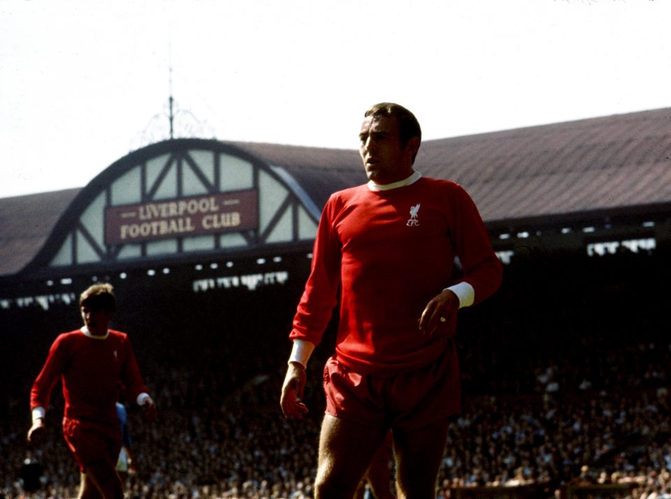 St John was to sign a record for Liverpool in 1961 and went on to establish himself as a club legend