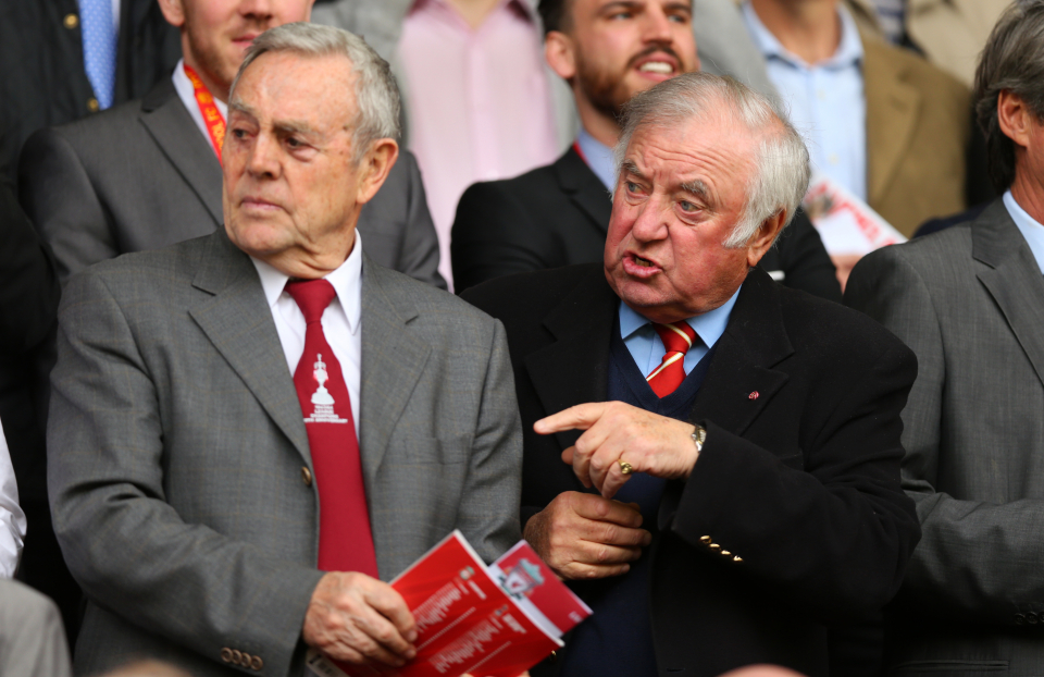 St John - featured in 2014 for Liverpool vs Tottenham with Jimmy Tarbuck at Enfield