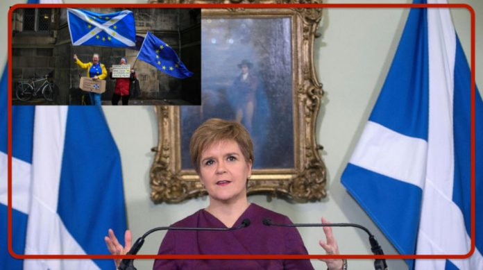 Britain.  Scotland says 'no' to Brexit and demands independence to return to Europe