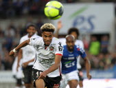 Former Strasbourg Ihsan Saco during the L1 football match between Racing Club de Strasbourg and OGC Nees in Strasbourg on April 28, 2018.