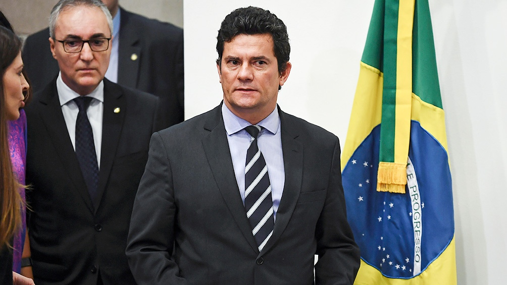 After receiving Lula's sentence, Morrow took over as Bolsonaro's minister of justice.