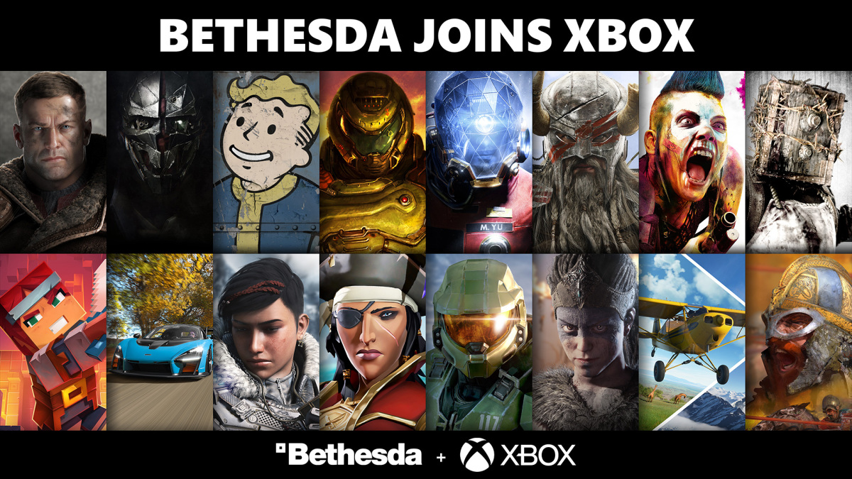 Microsoft Xbox officially completes the acquisition of Bethesda's parent company ZeniMax Media.  Image: Microsoft / Provided