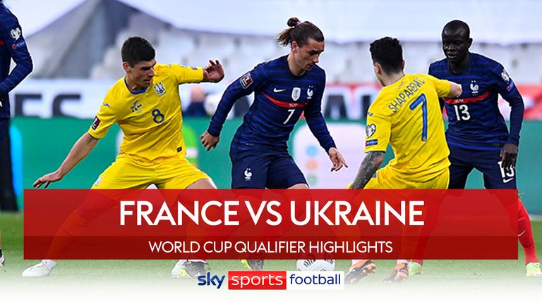 France will face Ukraine to qualify for the World Cup