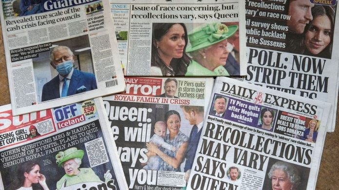 Bad thing at the wrong time, more than half of the British evaluate Meghan and Harry's interview