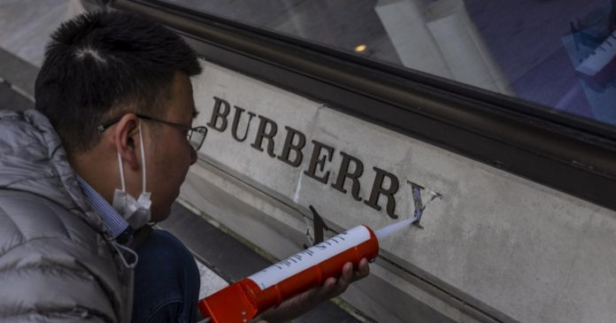 Burberry pays the results of the Xinjiang case