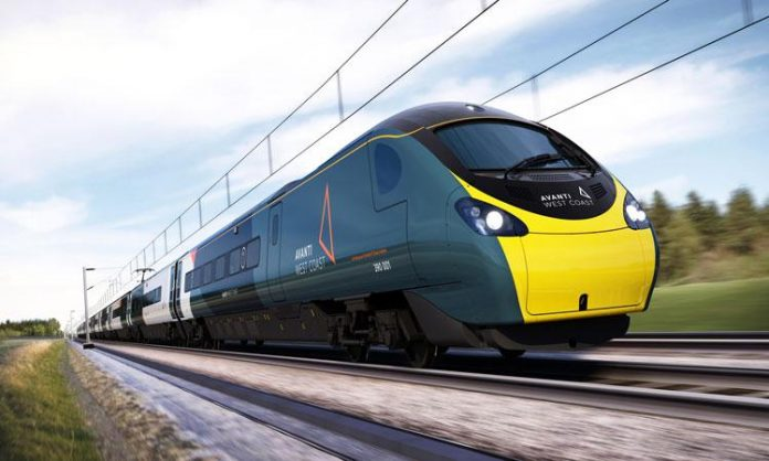GB  'Avanti' is born, it will connect England, Wales and Scotland