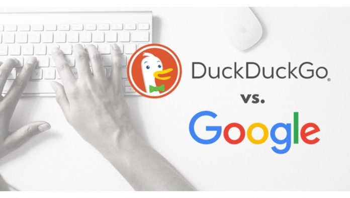 Ing leaked information and espionage ';  Open protests after Google's revelations    DuckDuckGo accused Google of spying on users through data collection