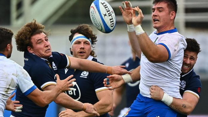 Italy is fighting, but it is not enough: Scotland wins 28-17