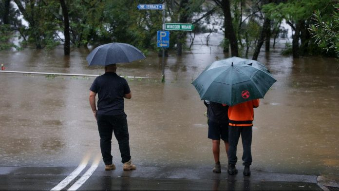 New evacuation in Sydney due to torrential rains and floods  Now