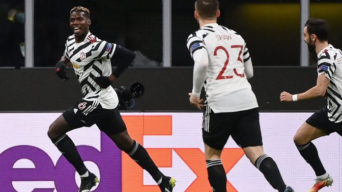 Pogba, the defined entry of the joint on the track