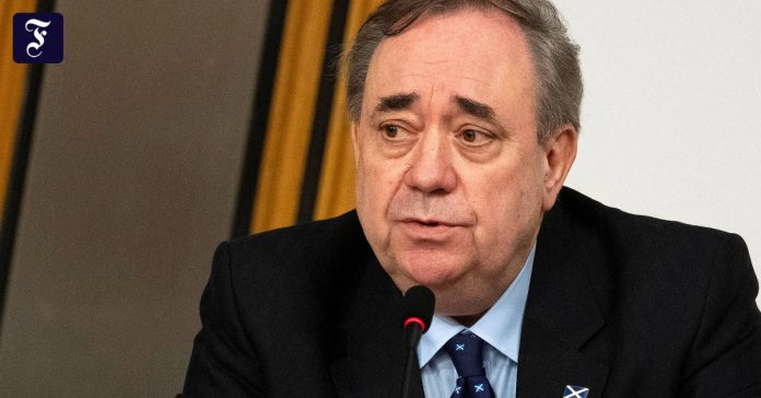 Salmond, former Scotland's first minister, formed the party