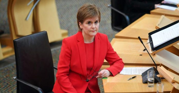 Sturgeon charged, Dream of an independent Scotland at risk
