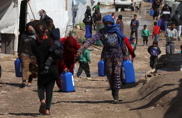 United Nations is seeking to raise $ 10 billion to support displaced Syrians
