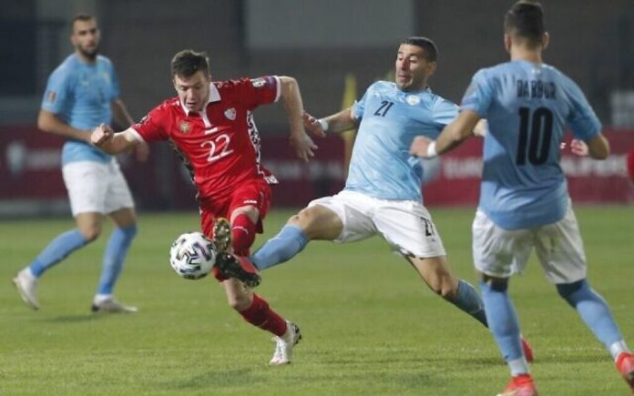 Israel beat Moldova 4–1 in World Cup qualifier