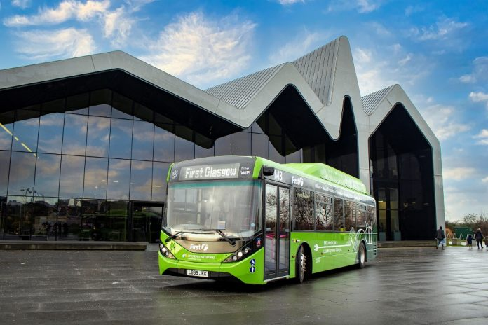 First bus has ordered 126 BYD ADL electric buses to Glasgow