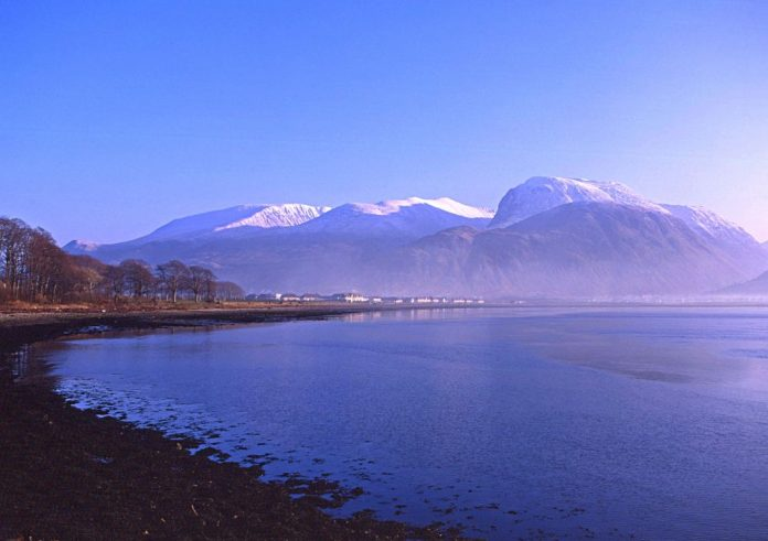 Fort William in Scotland, a place of mountains and beautiful walks