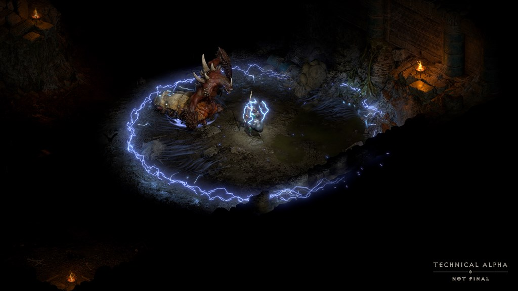 Being able to use the controller to play is also an attraction of the Diablo Duo. Figure: provided by Blizzard Entertainment