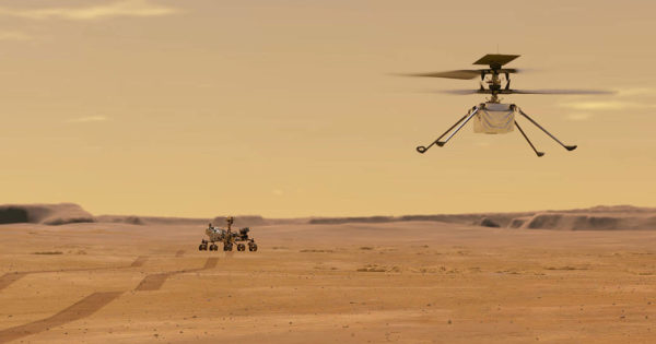 The glider-helicopter that flew on Mars now has the hardware of a 7-year-old smartphone