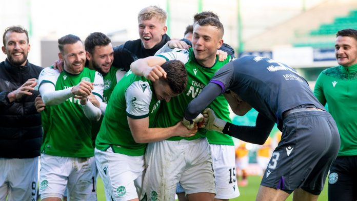 Hyberian 2-2 Motherwell: Scottish Cup semi-finals with penalty shootout win.  Football news