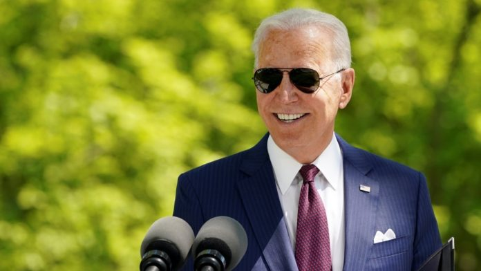 Most US presidents see Biden doing his job satisfactorily for the first 100 days.