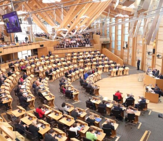 GB  On 6 May, a vote is taken for the renewal of the Parliaments of Wales and Scotland