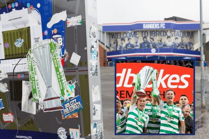 The 2019/2020 title is official for Celtic, but for the Rangers it is a cardboard scudetto