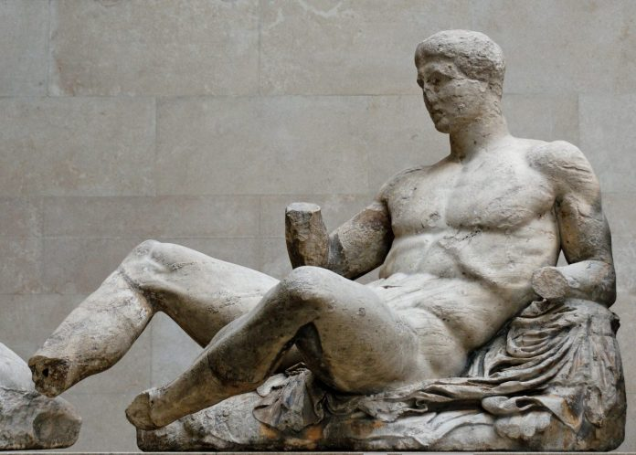 Because Greece is still asking London to return the Parthenon marbles