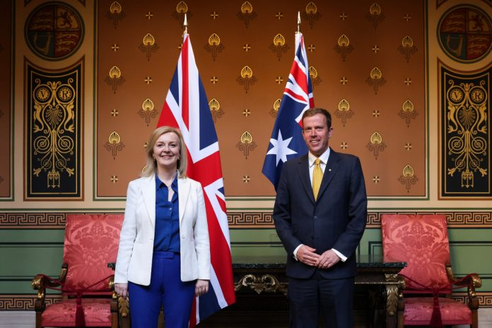Britain aims to sign £ 20 trade deal with Australia