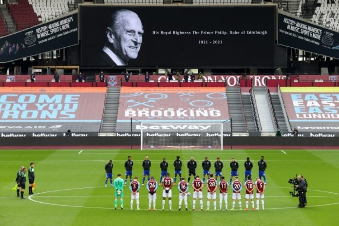 British sporting events symbolize Prince Philip's funeral honor