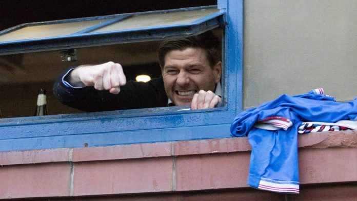 Gerard leads the Rangers to the title
