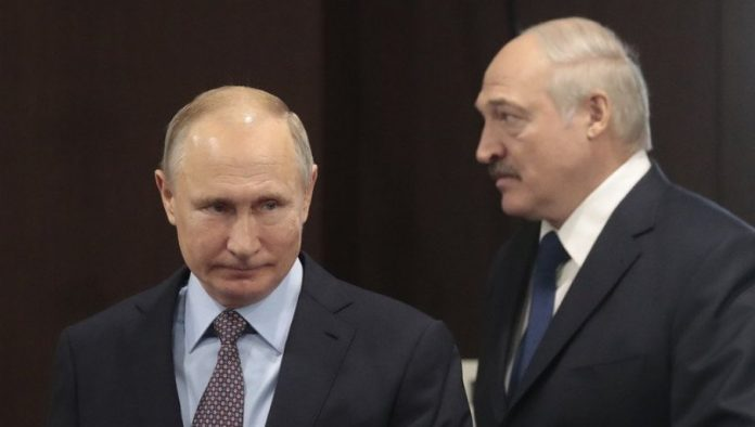 PUTIN LESSONS LESSON to WEST: Russian President makes a ruckus about Lukashenko's assassination attempt!  (Video)