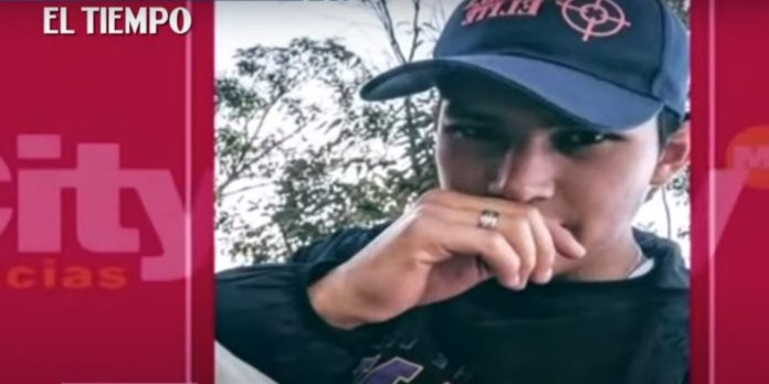 Palermo neighborhood - a young man is murdered for stealing his cell phone in Bogota