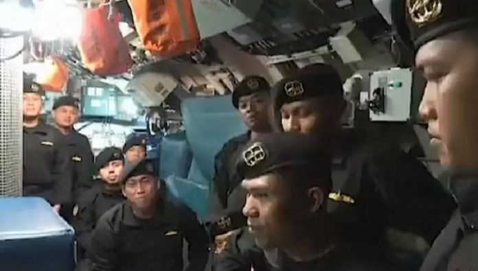 Shortly before the tragedy, dead sailors were filmed singing the song