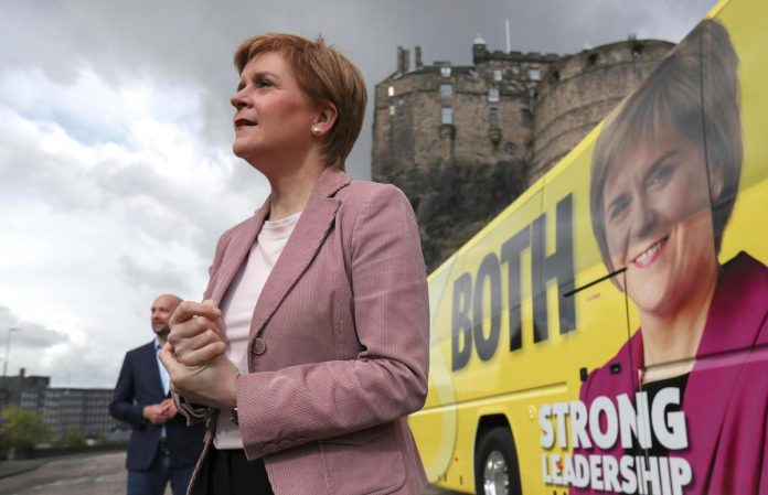 Elections in Scotland - Away with English