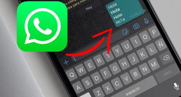 WhatsApp |  How to change the font without a program.  Application |  Apps |  Smartphone |  Cell phone |  Viral |  Trick |  Tutorials |  United States of America |  Spain |  Mexico |  Nnda |  Nnni |  The data